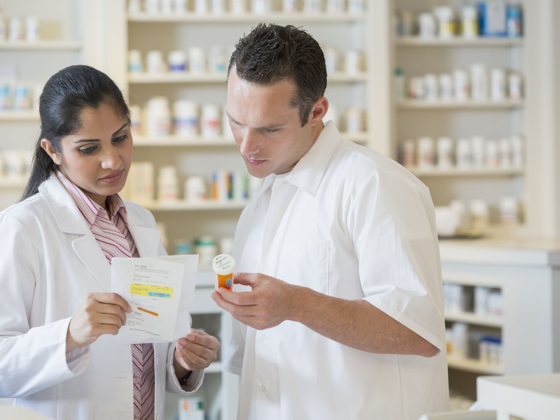 Pharmacists therefore want to be trained by laboratories, but not by anyone.