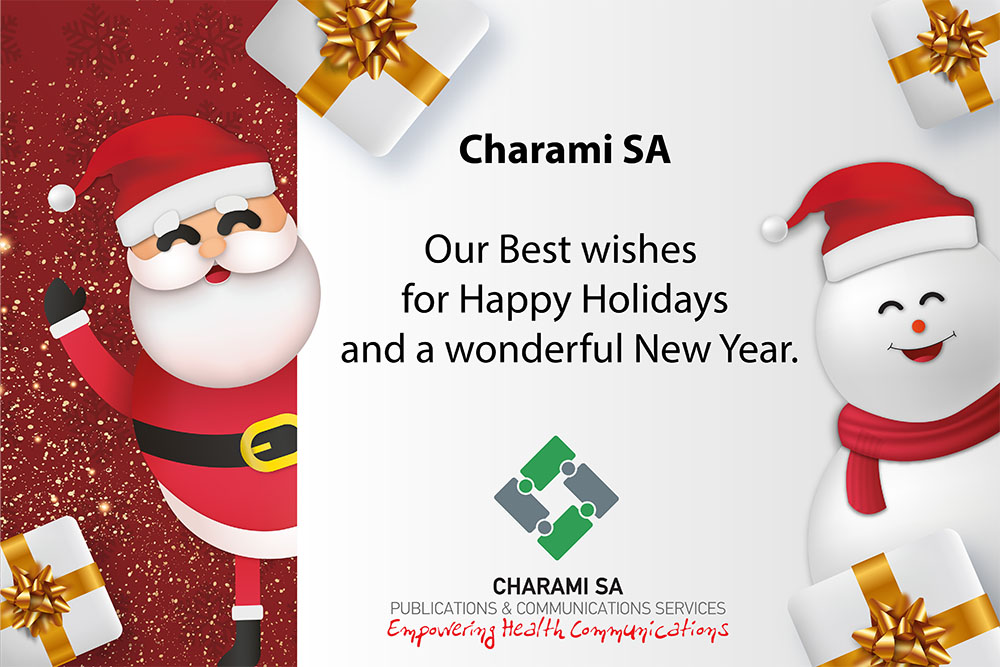 Charami SA - Our Best Wishes for Happy Holidays and a Wonderful New Year